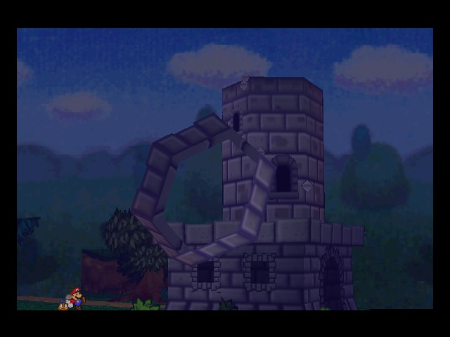 Paper Mario - destroyed - User Screenshot